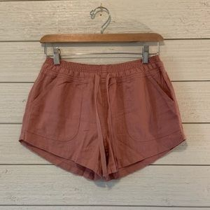 Women's size small Altar'd state pink soft shorts
